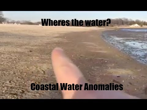 Coastal water acting UNUSUAL in Stamford CT and Provincetown MA