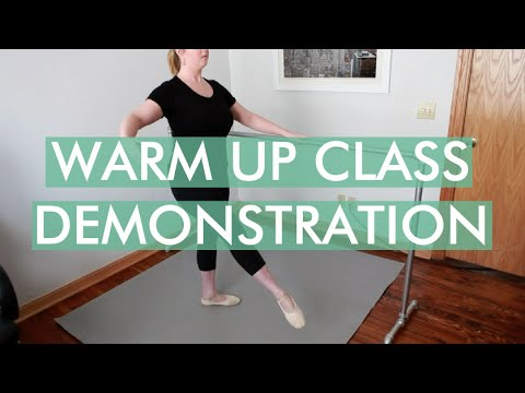Warm Up Class Demonstration