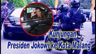 Gambar cover TERBARU.... Iring-iringan Presiden JOKOWI saat Ke Kota MALANG