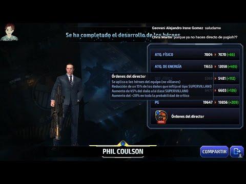 Directo SUBIENDO A COULSON a TIER2 más pruebas Batalla Alianza y Jefe Mundial