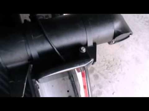 Side Scan Transducer Mounting Avi Youtube