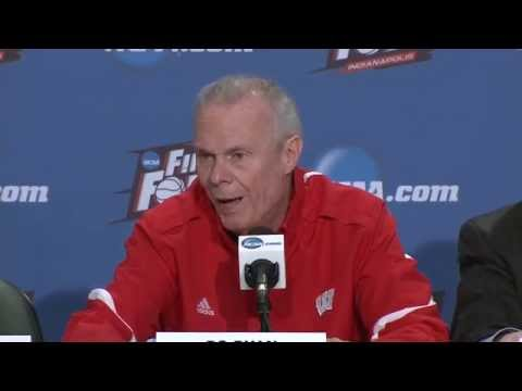 Wisconsin Final Four News Conference