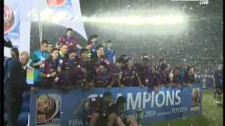 FC Barcelona vs Estudiantes Final 2  1 FIFA Club World Cup Final Abu Dhabi 2009 Zayed Sport City