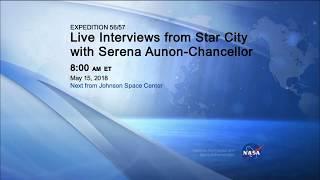 Live Interviews - Serena Aunon-Chancellor - May 15, 2018