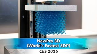 NewPro3D (World's Fastest?) at CES 2016