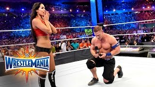 John Cena proposes to Nikki Bella: WrestleMania 33 (WWE Network Exclusive) thumbnail