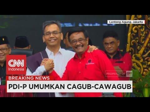 Megawati Tunjuk Sihar Sitorus Jadi Pendamping Djarot Di Pilgub Sumut