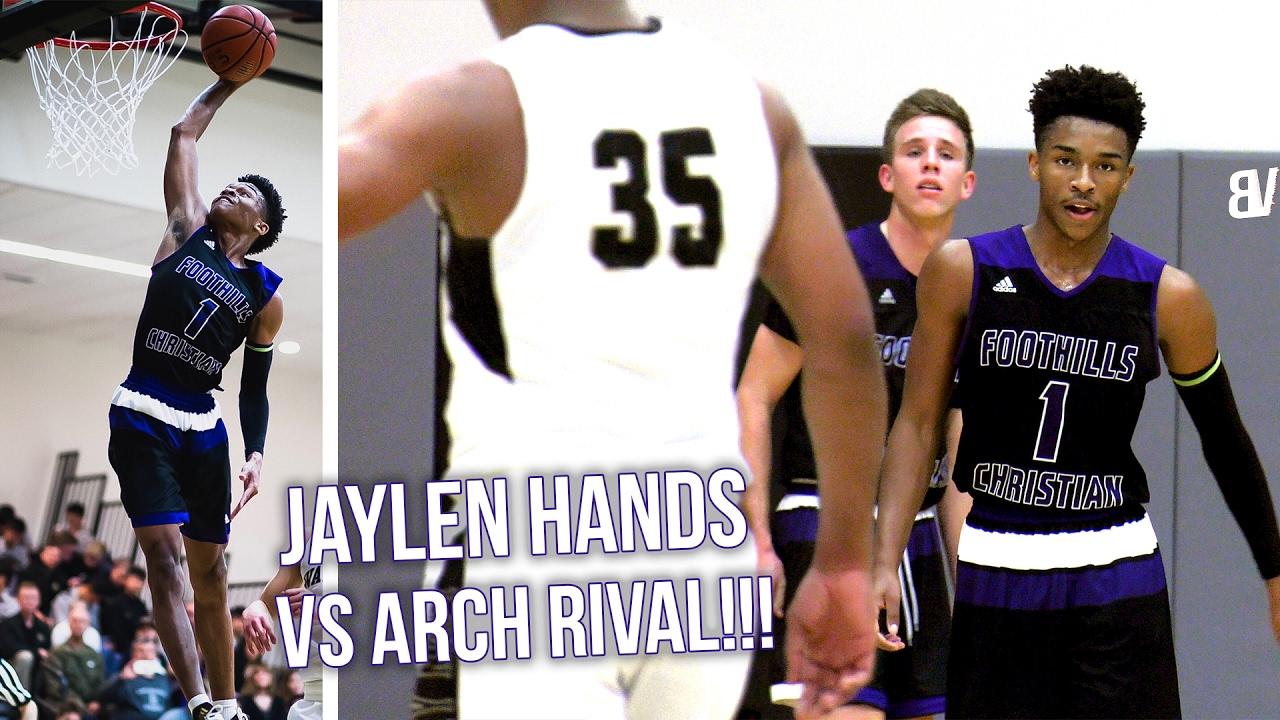 53bc20dd026 Jaylen Hands vs ARCH-RIVAL Richard Polanco! 34 POINTS VS 40 in HOSTILE GYM! FULL  HIGHLIGHTS - YouTube