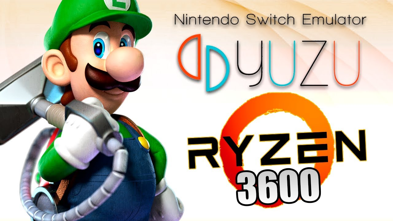 LUIGI'S MANSION 3   YUZU EARLY ACCESS   CONFERINDO A PERFORMANCE NO AMD RYZEN 3600!!!
