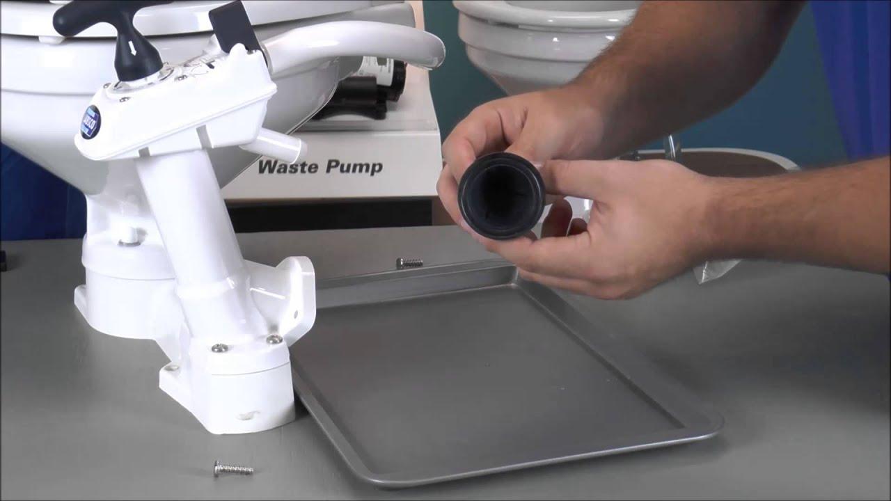 Replace The Jabsco Manual Toilet Joker Valve 29090 Or
