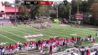 Montclair State Football Highlights vs. Frostburg - 10/20/18