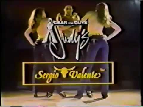 1981 Sergio Valente Jeans Commercial Youtube