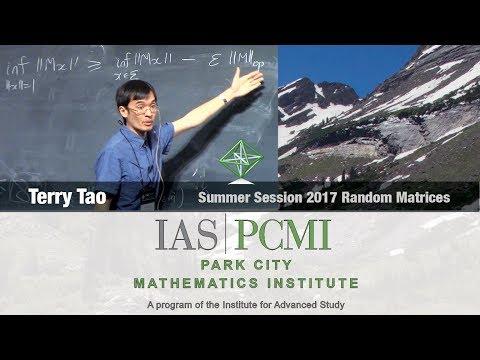 Terry Tao 1.1 Universality for random matrix ensembles of Wigner type, part 1.1