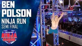 Ben Polson shows the Semi-Finals who's boss | Australian Ninja Warrior 2020