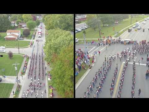 Fairfield Marching Band - Homecoming Parade