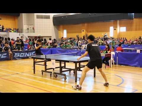 "NSG 2014 - Table Tennis Championship Finals ""A"" Division (Boys) RI vs. NYJC"