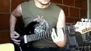 Rhapsody of Fire / Luca Turilli - Shadows of Death Solo - Guitar Cover by Juan Tobar
