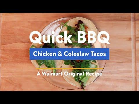 quick-bbq-rotisserie-chicken-&-coleslaw-tacos-recipe