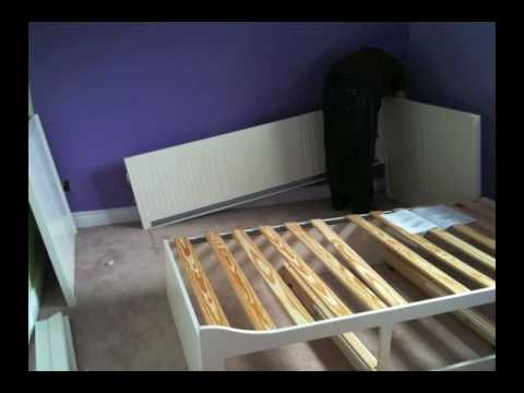 How To Build An Ikea Bed In Under 2 Minutes Youtube