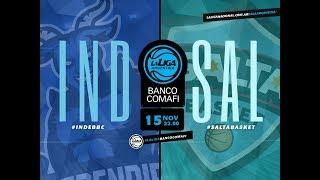 LaLigaArgentinaBancoComafi  15.11.2018  Ndependiente Vs. Salta Basket