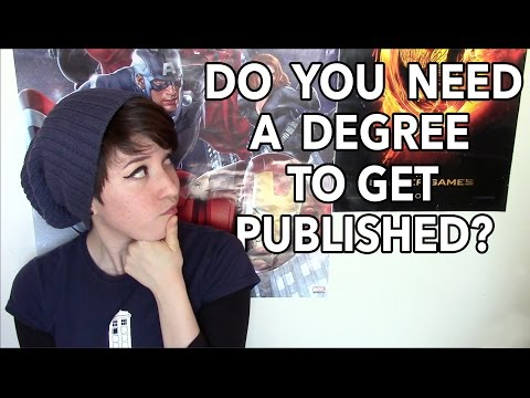 Do You Need a Degree to Get Published?