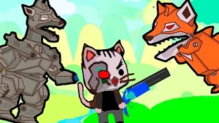 ИГРА как мультик - Ударный отряд котят 2 - Strike force kitty 2 - Для Детей - часть #3
