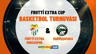 Darüşşafaka 59 - 79 Frutti Extra Bursaspor | Frutti Extra Cup final maçı