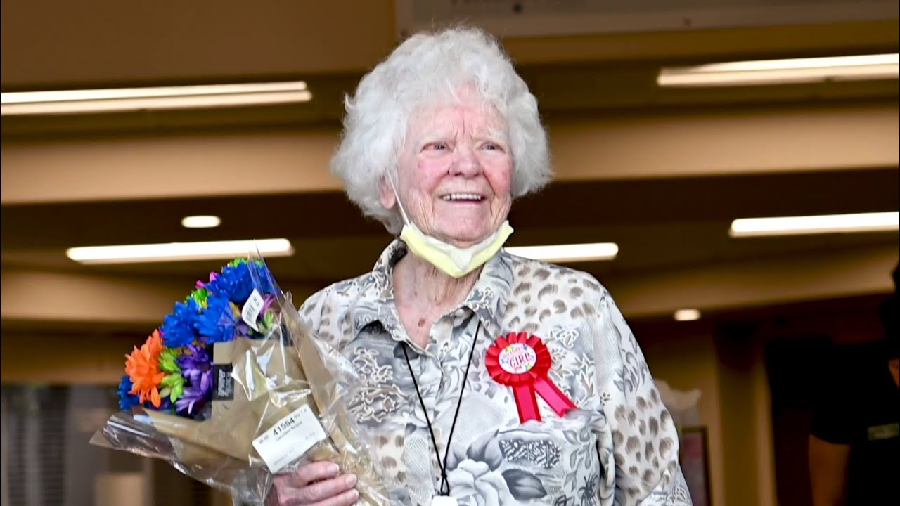 A Very Special 100th Birthday Surprise for MSgt (Ret) Ruth Heeler