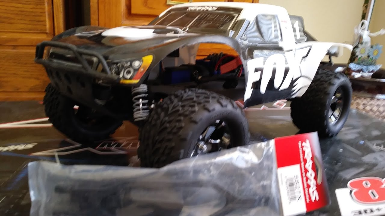 Traxxas Monster Slash 4x4 Battery Expansion Kit Upgrade/Install