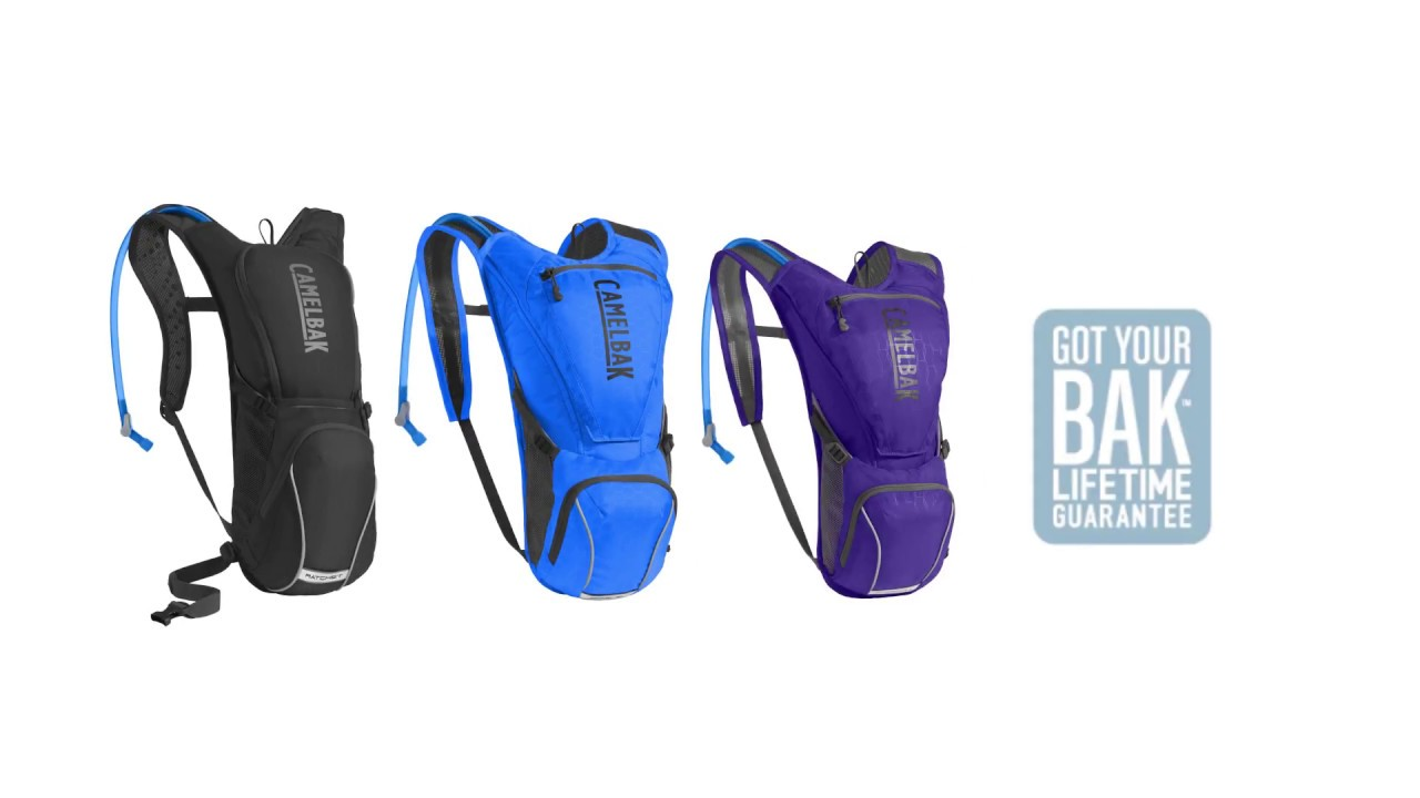 b9f31d9755d CamelBak Ratchet, Rogue and Aurora Cycling Hydration Packs - YouTube