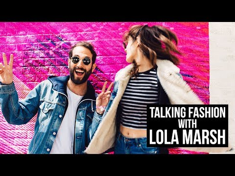 Yael and Gil of Lola Marsh on their matching looks at SXSW 2018