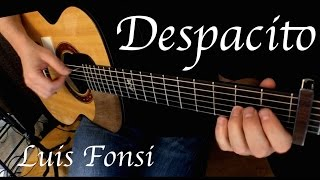 Kelly Valleau - Despacito (Luis Fonsi) - Fingerstyle Guitar