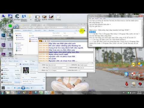[Tutorial] Mini Lyrics - Karaoke ngay trên Windows Media Player :D