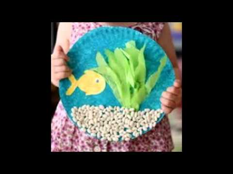 Art activities for preschoolers youtube for Craft work for class 3
