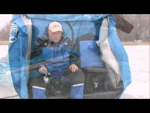 Dave genz product review nanook youtube for Dave genz fish trap