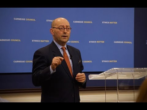 Global Ethics Forum: Sea Power with James Stavridis