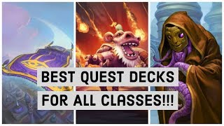 Best quest decks for all classes. Rise Of Shadows Wild Hearthstone