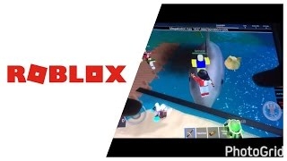 I KILLED THE MEGALODON/ ROBLOX