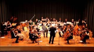 """Orchester """"Luft- und Saitensprünge"""" play Ingo Höricht """"Like Rivers in the Dark"""""""