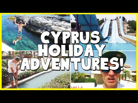CYPRUS HOLIDAY ADVENTURES! (Holiday Vlog)