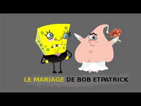 Le mariage de bob l 39 ponge patrick l 39 toile de mer youtube - Patrick l etoile ...