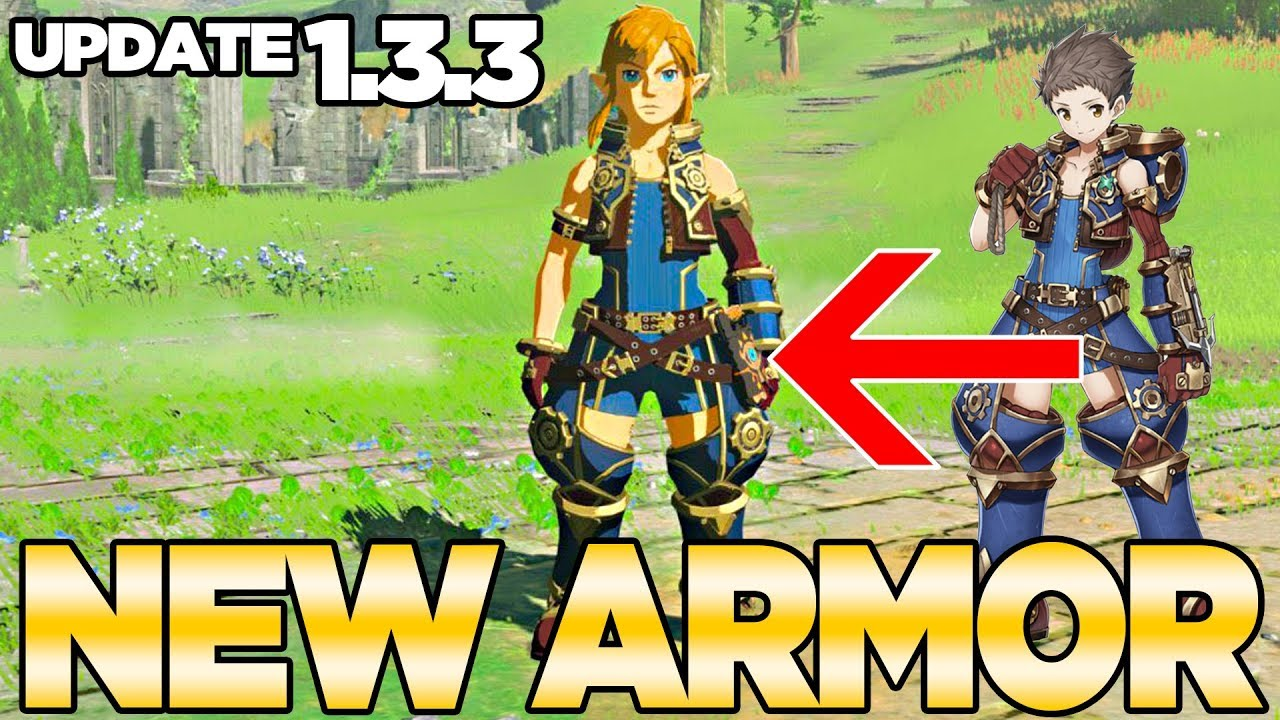 Update 1.3.3 Gets you a Xenoblade Chronicles 2 outfit i ...