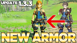 Update 1.3.3 Gets you a Xenoblade Chronicles 2 outfit in Breath of the Wild | Austin John Plays