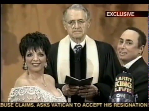 LIZA MINNELLI & DAVID GEST - LARRY KING LIVE, 2002 (1)