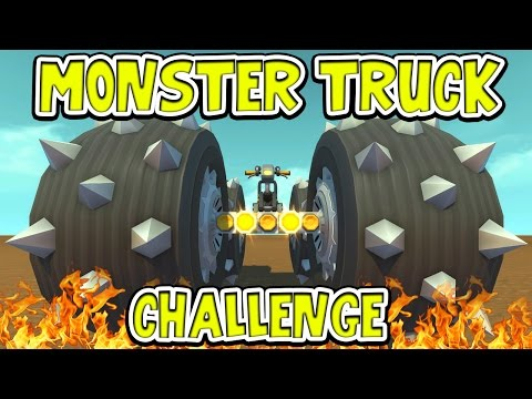 Scrap Mechanic - MONSTER TRUCK CHALLENGE! VS AshDubh & Speedy - [#46] | Gameplay en streaming