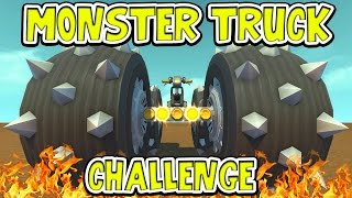 Scrap Mechanic - MONSTER TRUCK CHALLENGE! VS AshDubh & Speedy - [#46] | Gameplay
