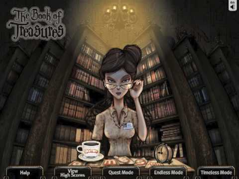The Book Of Treasures Game