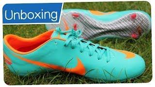 on sale 7fce5 591a3 Nike Mercurial Vapor VIII Mint Orange - CRISTIANO RONALDO Boots - Unboxing  - Duration  2 minutes, 26 seconds.