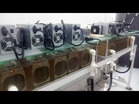 Bitcoin Mining Bitmain Antminer S9 Soğutma