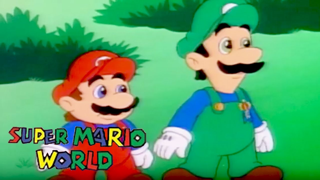 Download Super Mario World | A LITTLE LEARNING | Super Mario Brothers | Cartoons For Kids